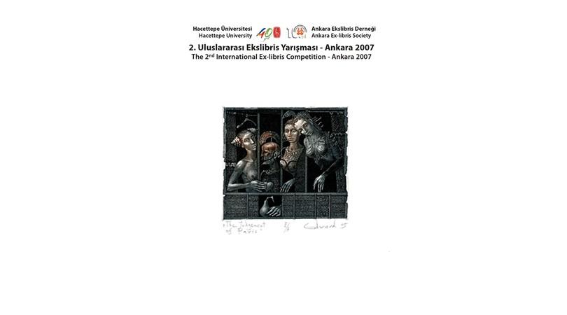 2. Uluslararası Ekslibris Yarışması Kataloğu_2007