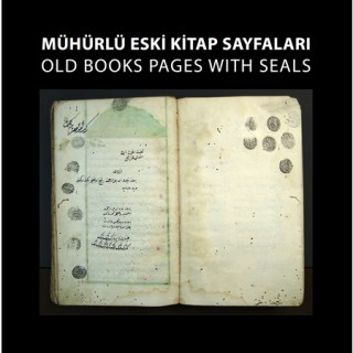 Exhibition of the Old Books Pages with Seals